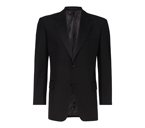 youngs evening wear black 2 button