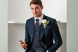 Young's Hire - Mens Navy Suits. Suits From £55
